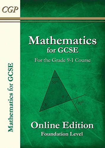 New Maths for GCSE Textbook: Online Edition with Answers - Foundation (for the Grade 9-1 Course)
