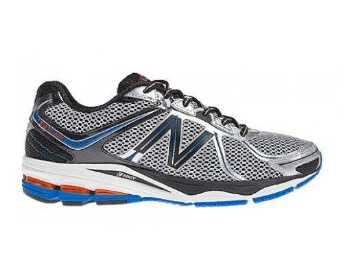BALANCE M880V2 Men's Running Shoes, Grey/Black/Blue, UK9.5 - Width D