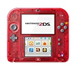 Nintendo 2DS - Konsole (Transparent Red)