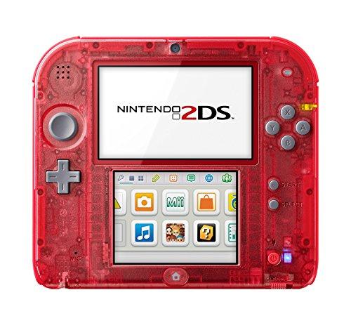 Console Nintendo 2DS – transparente rouge