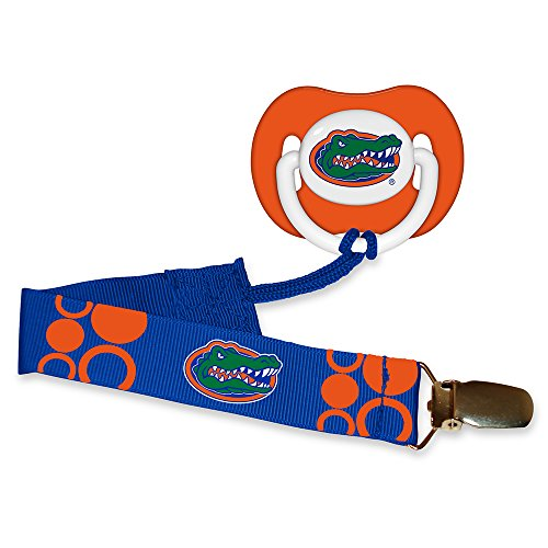 Baby Fanatic Pacifier with Clip - Florida, University of