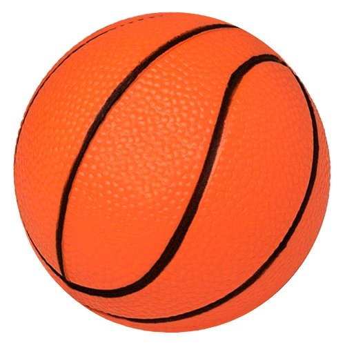 Basketball Stress Ball - 2.5 Inch