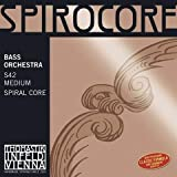Thomastik Spirocore Solo Double S42 Jeu de cordes medium pour contrebasse