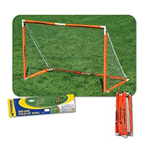 Buy Champro Deluxe Fold-Up Steel Soccer Goal - 6' x 4' by Champro