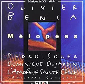 Melopees by olivier bensa acad mie sainte c cile for Dujardin olivier