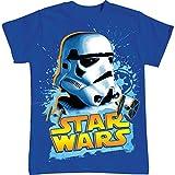 Star Wars Boys Storm Trooper Splatter T Shirt