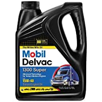 Mobil 1 112786 15W-40 Delvac 1300 1 Gallon Super Motor Oil