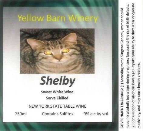 "Nv Yellow Barn Winery ""Shelby"" Sweet White 750 Ml"