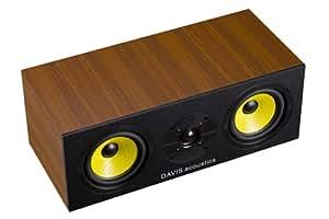 Davis Acoustics CENTRAL 3D Enceinte Centrale 1.0 Marron