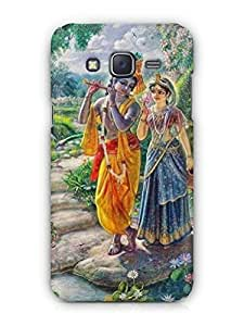 Cover Affair Lord Krishna Printed Back Cover Case for Samsung Galaxy J5 (2016)