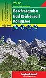 Freytag Berndt Wanderkarten, WKD 5, Berchtesgadener Land - Berchtesgaden - Bad Reichenhall - K�nigssee, GPS - Ma�stab 1:25 000