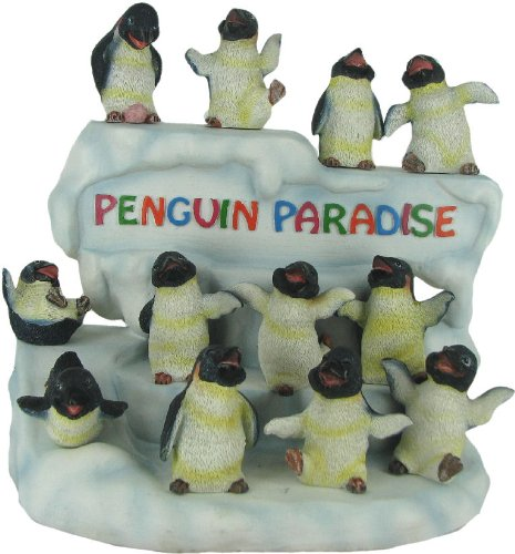 Penguin Paradise 25-Piece Collectible Figurine Set