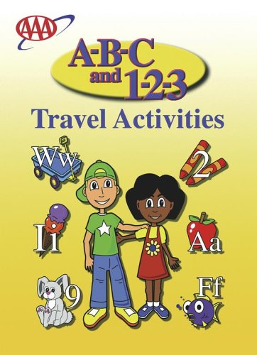 A-B-C and 1-2-3 Travel Coloring Book