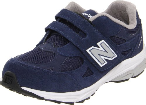 New Balance Kv990 Hook And Loop Pre Running Shoe (Little Kid),Navy,12.5 M Us Little Kid