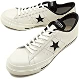 CONVERSE コンバース スニーカー ONE STAR J ワンスター J ホワイト/ブラック(32346510 FW12)