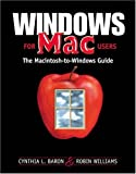 Windows for Mac Users (0201353962) by Baron, Cynthia