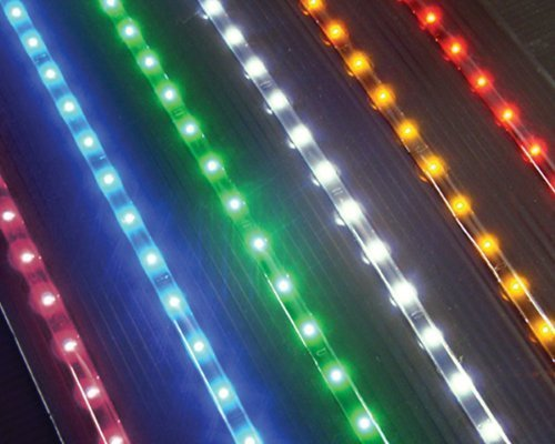 "Led Light Strip - 35"" - 54 Yellow Lights - Package Of 2 Strips"