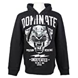 Ecko Unlimited Men's Dominate MMA Hoodie Sweatshirt Black X-Large