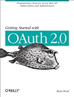 Getting Started with OAuth 2.0 Front Cover