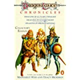 Dragonlance Chronicles: Dragons of Autumn Twilight, Dragons of Winter Night, Dragons of Spring Dawnin (TSR Fantasy)by Margaret Weis