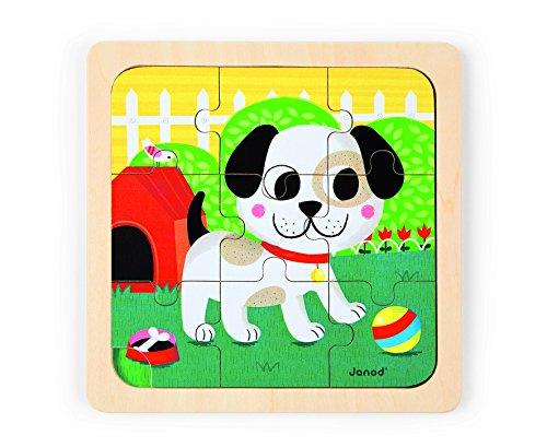 Janod Titus Dog Puzzle