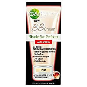 Amazon.com : Garnier Miracle Skin Perfector Anti Age BB Cream - Light