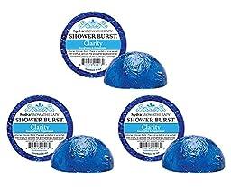 Six (6) Hydra Aromatherapy Shower Bursts - Clarity