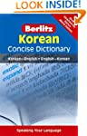 Berlitz Language: Korean Concise Dict...