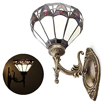 Vivreal® Tiffany Style Wall Sconces Light Lamp Uplighter with ...