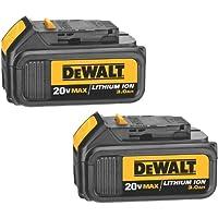 2-Pack DeWalt 20-Volt MAX Li-Ion 3.0 Ah Battery + $53.99 Sears Credit