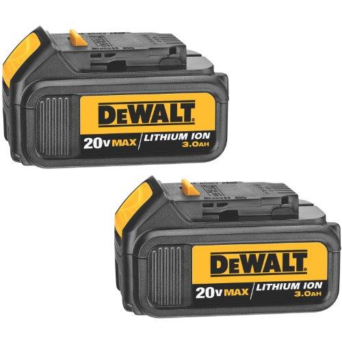 DEWALT DCB200-2 20-Volt MAX Li-Ion 3.0 Ah Battery 2-Pack primary