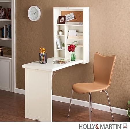 Vaya cosa mona escritorio coqueto y minimalista para for Escritorios para espacios pequenos