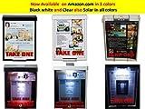 White Snap Shut Brochure Box Brochure Holder Flyer Box Outdoor Realtor Style Info Box Realtor Supplies Real Estate Marketing