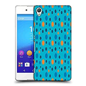 Snoogg Colorful Spots Blue Pattern Designer Protective Phone Back Case Cover For Asus Zenfone 6
