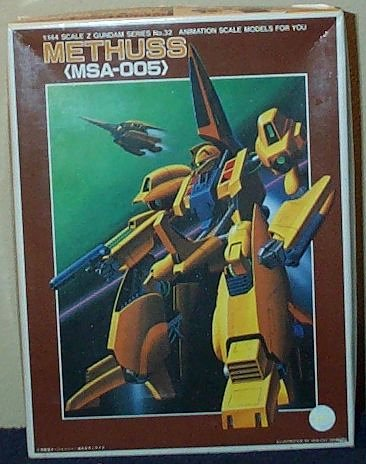 Scale Z Gundam Series Methuss MSA-005 Highly Detailed Plastic Model Kit