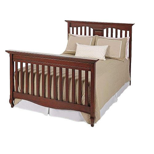 Babi Italia Mayfair Full Size Conversion Rails, Blackberry - Baby Furniture Crib Toddler Bed Children'S Bed front-739902