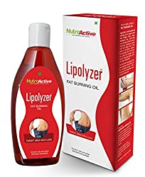 NutroActive Lipolyzer Fat burning oil (275 ml), slimming oil, weight loss, massage oil, fat burner, oils & scrubs, massage creams, massage & relaxation, health & personal care, weight loss product, weight management product