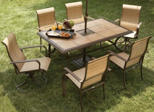 Messina Seven-piece Dining Set