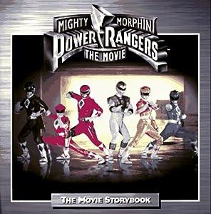 mighty morphin power rangers the movie storybook tony