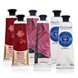 L'Occitane Lovelier Hands Kit: 2x Rose Velvet 30ml + 2x Pivoine Flora 30ml + 2x Shea Butter 30ml - 6x30ml/1oz