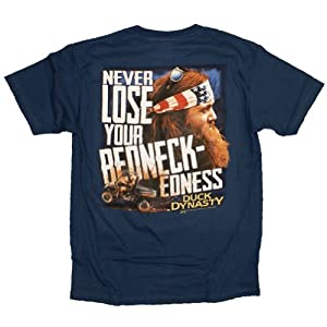 Duck Dynasty Never Lose Your Redneck-Edness T-Shirt