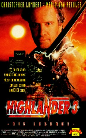 Highlander 3 - Die Legende [VHS]