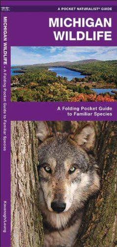 Michigan Wildlife: A Folding Pocket Guide to Familiar Species (Pocket Naturalist Guide Series)