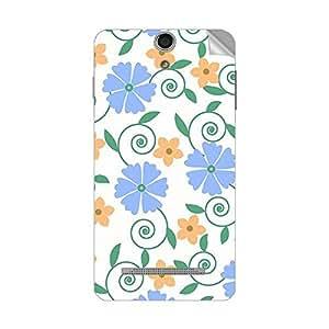 Garmor Designer Mobile Skin Sticker For Lava Iris X1 Selfie - Mobile Sticker
