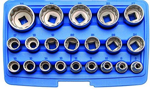 BGS-Steckschlssel-Einstze-125-12-12-kant-8-36-mm-21-teilig-2267