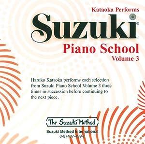Suzuki Piano School CD - Volume 3