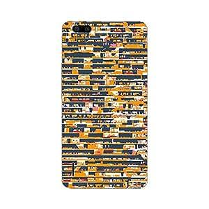 Garmor Designer Plastic Back Cover For Huawei Honor 4C