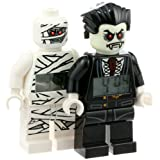 LEGO Monster Fighters Lord Vampire and Mummy Minifigure Clocks 2 Pack – Just $20.40!
