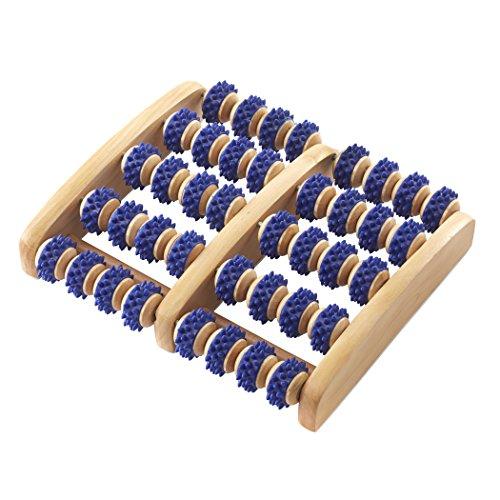 Wooden Foot Roller Massager Acupressure Shop