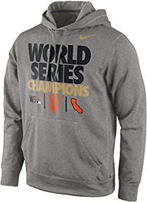 Nike San Francisco Giants '14 World Series Champions Therma-Fit Pullover Hoodie
